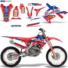 Decal Graphic Kit Honda 250/450R Dirt Bike Stickers CRF250 10-13 CRF450 09-12 LO