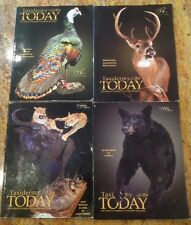 LOT OF 4 TAXIDERMY TODAY MAGAZINES 2014 2015
