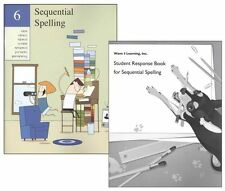 Sequential Spelling 6 with Student Response Book  NEW