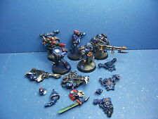 5 Night Lords Havocs der Chaos Space Marines BEMALT 1