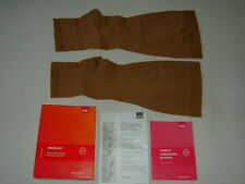 Medi Mediven Class 2 Beige Below Knee Open Toe Compression Stockings, Size VII