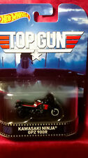 Hot Wheels Top Gun Kawasaki Ninja GPZ 900R Motorcycle Retro Series Diecast 1:64