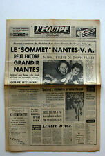 Journal l'Equipe n°6233 - 1966 - Nantes - Dawn Fraser - Honda - Chrysler -