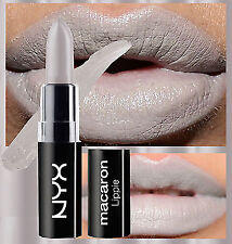 NYX MACARON LIPSTICK - BLACK SESAME - LIGHT GREY