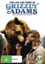 The Life and Times of Grizzly Adams: Complete Collection NEW R4 DVD