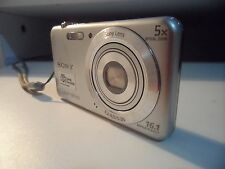 Sony Cyber-shot DSC-W710 16.1 MP Digital Camera SteadyShot 5x Zoom Silver - edc