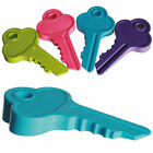 NEW LARGE KEY SHAPED DOOR STOPPER WEDGE RUBBER DOORSTOP JAM NOVELTY DURABLE FUN