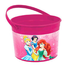 Disney Princess Sparkle Birthday Party Plastic Loot Treat Favor Container