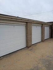 LIMITED OFFER Fully Fitted Electric 20mm Sectional Ribbed Garage Door INSTALLED