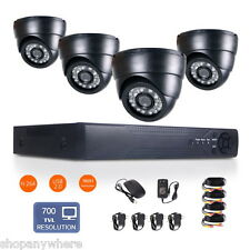 8CH 960H HDMI DVR HD 700TVL Night Vision CCTV Video Home Security Camera System