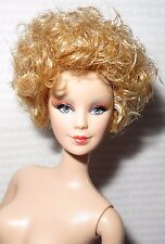NUDE BARBIE ~ STRAWBERRY  BLONDE EFFIE TRINKET MACKIE MATTEL DOLL FOR OOAK