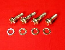 Yamaha Banshee YFZ350 Polished High Strength Stainless ATV Foot Pegs Bolt Kit