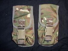 2X British Army Osprey MK4 Smoke Grenade Pouch - MTP - Super Grade 1 - AIRSOFT
