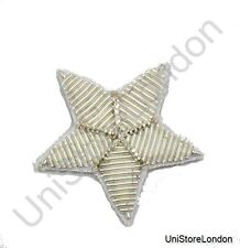 Badge Star Silver  25mm R850