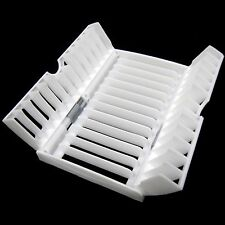 Mini Folding Dish Drying Rack Sink Drainboard Kitchen Organizer Sink Tray White