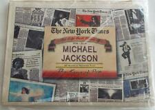 New York Times: Life And Times Of Michael Jackson 1958-2009 62 Pages King Of Pop