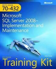 MCTS Self-Paced Training Kit (Exam 70-432): Microsoft SQL Server 2008