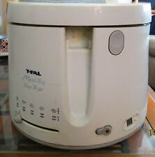 T-Fal FF100100 Maxi Fry Deep Fryer 1600 Watts  WHITE 12 cup capacity