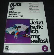 Reparaturanleitung Audi F 103 / 60 / 72 / 75 / 80 / Super 90 Variant bis 1972!