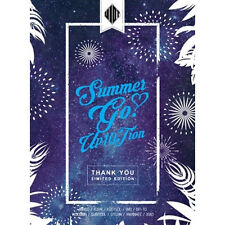 UP10TION-[SUMMER GO] 4th Mini Album THANK YOU Limited CD+100p Photo Book+Sticker