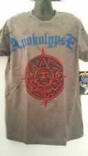APOKOLYPSE_PRINTED MEN'S FASHION TEE_BIKER_ROCKER TEE_NEW_Sz_XXL_Charcoal
