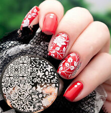 Newly BORN PRETTY BP79 Arabesque Butterfly Nail Art Stamp Template Image Plate