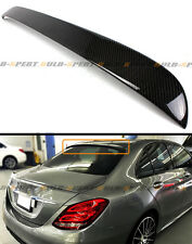 2015-2017 MERCEDES BENZ W205 C300 C400 S63 CARBON FIBER REAR WINDOW ROOF SPOILER