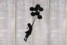 Banksy Balloons girl poster A2 SIZE