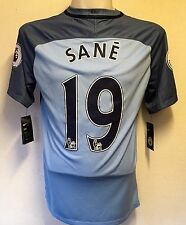 MANCHESTER CITY 2016/17 HOME SHIRT SANE 19 BY NIKE SIZE ADULT MEDIUM BRAND NEW