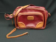 VINTAGE 70s  PIERRE CARDIN TRAVEL CARRY-ON LUGGAGE BAG