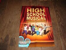 ZAC EFRON - HIGH SCHOOL MUSICAL !!!!!!!RARE FRENCH PRESS/KIT/POSTER
