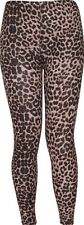 WOMENS LADIES LEOPARD STRIPE SKULL ARMY COMIC PRINTED LEGGINGS PLUS SIZE 8-18