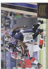 2011 Panini Threads Ray Lewis 031/100 Baltimore Ravens Miami Hurricanes