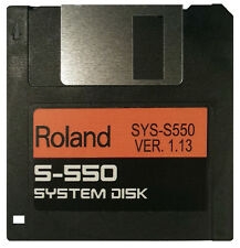 ROLAND S-550 Operating System Startup Disk v1.13 OS Boot  Fastest Shipping! NEW