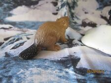 "TRAIN GARDEN HOUSE VILLAGE ANIMAL "" WILD BEAVER ACCESSORY "" + DEPT 56/LEMAX info"