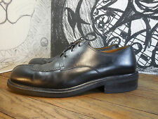 Julio Blanco Black Leather Dress Shoes Oxfords Men's 12M Made in Spain