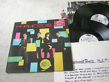 THE PHOTOS Same & The Blackmail Tapes 1980 NL LIMITED 2LP EPIC EPC 88491