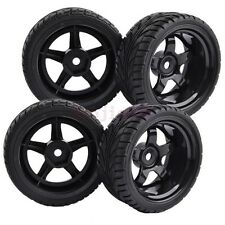 9mm Offset RC 1:10 On-Road Car Foam Rubber Tyres Tires 12mm Hex Wheels 8030-8002