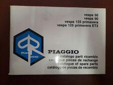 CATALOGO PARTI DI RICAMBIO PIAGGIO VESPA 50-90 PRIMAVERA ET3
