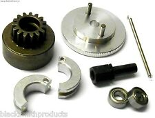 21 + RC Nitro Engine 2 Shoe Clutch Flywheel + Bell Kit AXLE