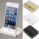Data Sync Base Dock Station Stand Holder Mount Charger Cradle For iPhone 5 5C 5S
