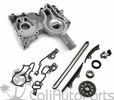 FITS: 81-82 TOYOTA CELICA PICKUP 2.4L 22R DOUBLE ROW TIMING KIT + TIMING COVER