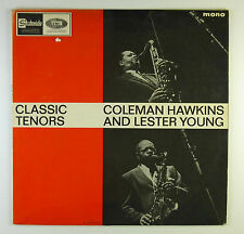 "12"" LP - Coleman Hawkins - Classic Tenors - B4058 - washed & cleaned"
