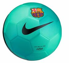 Nike FC Barcelona Pitch SE 2016 - 2017 Soccer Ball Brand New Teal Green Size 5