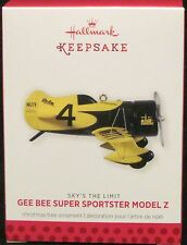2013 HALLMARK - GEE BEE SUPER SPORTSTER MODEL Z -17TH SKY'S THE LIMIT SERIES MIB