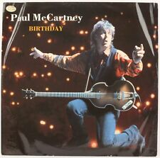 BIRTHDAY  PAUL MCCARTNEY Vinyl Record