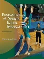 Fundamentals of Sports Injury Management by Marcia K. Anderson (2002, Paperback,