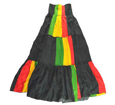 Rasta Blouse Women Dress Black Red Yellow Green