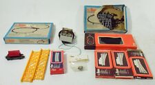 Lotto misto accessori trenini Lima scala HO box vintage vagone Marklin Toy -00F5