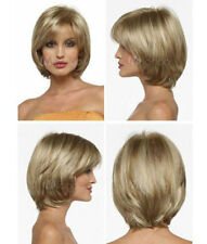 LMRA688  new style short blonde mixed hair wigs for women wig
